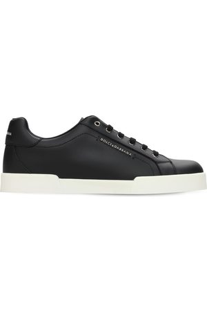 Dolce & Gabbana Leather Lace-up Sneakers