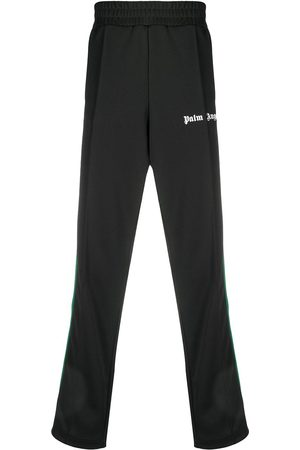Palm Angels COLLEGE TRACK PANTS WHITE