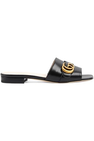 Gucci 15 mm Double G slides