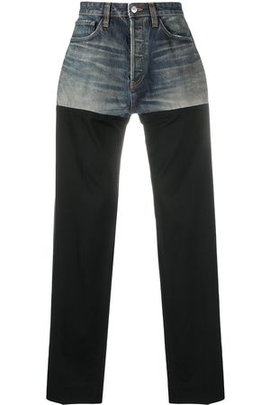 Balenciaga Patched straight-leg jeans
