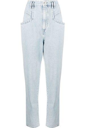 Isabel Marant Nadeloisa high-waisted jeans