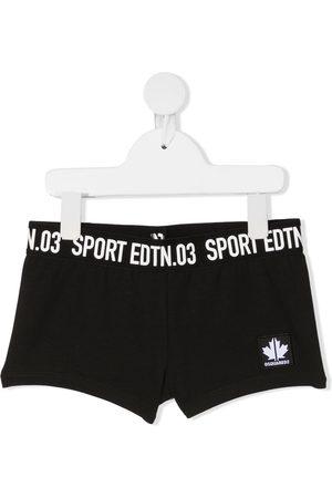 Dsquared2 Logo-tape sports shorts