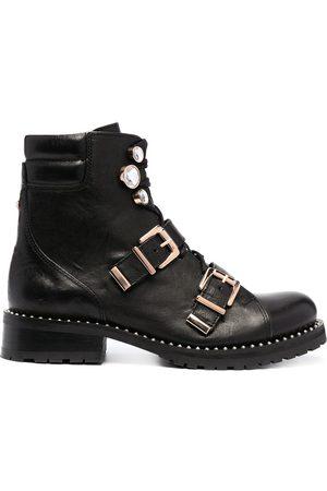 SOPHIA WEBSTER Ziggy biker ankle boots