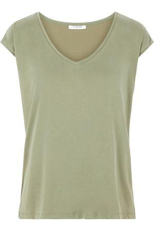 Pieces Effen T-shirt Dames