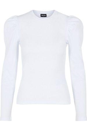 Pieces Pofmouw Shirt Met Lange Mouwen