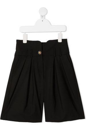 Balmain Wide leg tailored shorts