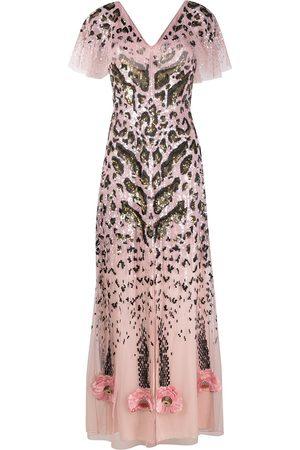 TEMPERLEY LONDON Candy sequin long dress