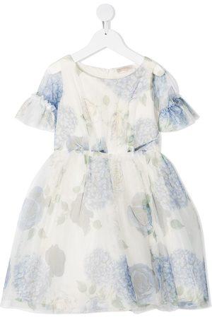 MONNALISA Floral print flared dress