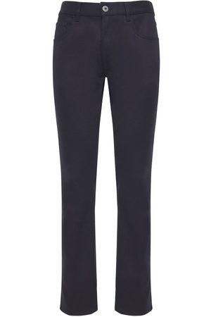 Prada Heren Jeans - 19cm Raw Stretch Cotton Denim Jeans