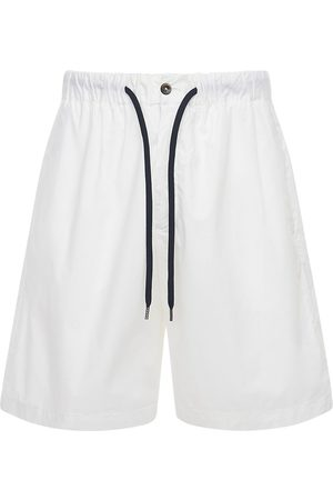 Pantaloni Torino Heren Bermuda's - Stretch Cotton Poplin Bermuda Shorts