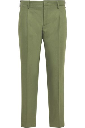 Pantaloni Torino Heren Chino's - 17cm Double Twisted Chino Cotton Pants