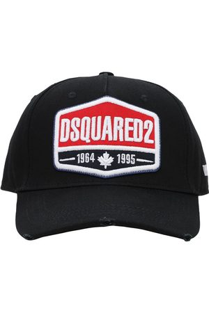 Dsquared2 Heren Petten - Logo Patch Cotton Gabardine Baseball Hat