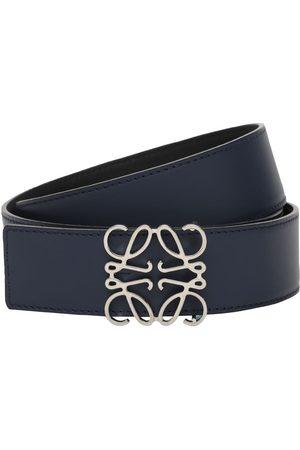 Loewe 4cm Reversible Anagram Leather Belt