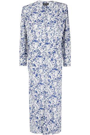 Isabel Marant Dames Geprinte jurken - Abstract-print maxi dress