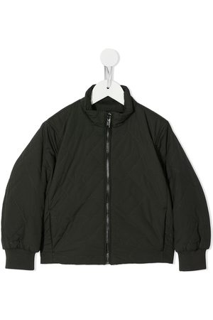 Emporio Armani Quilted zip-up bomber jacket