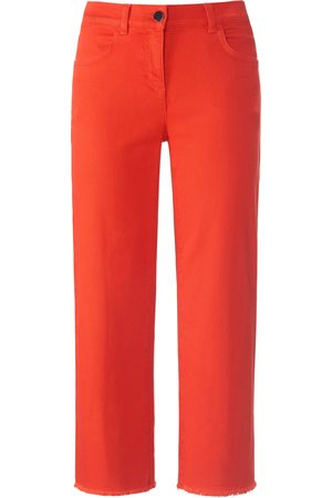 DAY.LIKE Dames Culottes - 7/8-jeans-culotte franjezoom