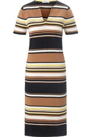 Peter Hahn Gebreide jurk 100% katoen korte mouwen Van