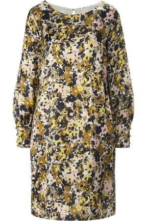 Margittes Dames Jurken met lange mouw - Jurk elastiek in de lange mouwen Van multicolour