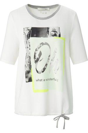 Oui Shirt ronde hals en korte mouwen
