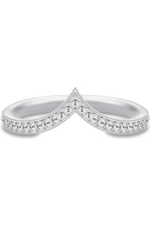 Julie Sandlau Dames Ringen - Ocean Crest Ring - Rhodium