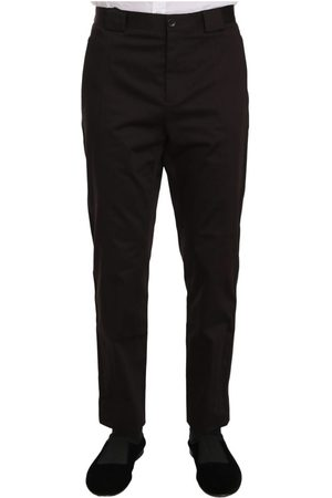 Dolce & Gabbana Cotton Stretch Formal Trouser Pants