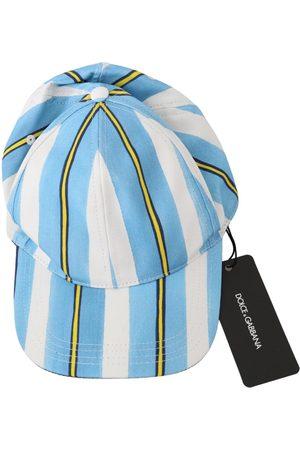 Dolce & Gabbana Stripes Baseball Cotton Cap