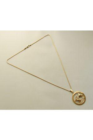 Christian Gouden vissen sterrenbeeld hanger met ketting