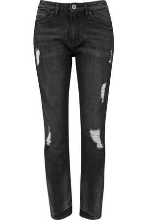 Urban classics Dames Boyfriend - Jeans 'Boyfriend