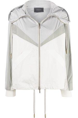 LORENA ANTONIAZZI Colour-blocked rain jacket