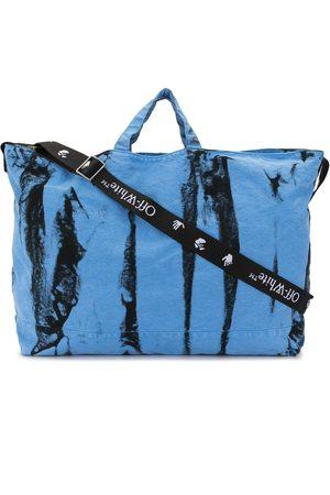 OFF-WHITE Shoppers - Tie-dye tote bag