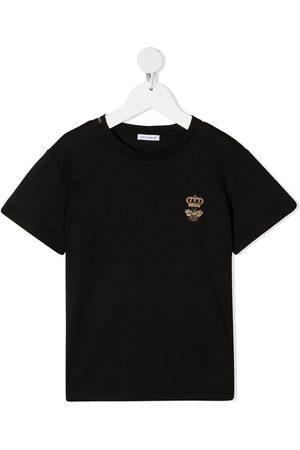 Dolce & Gabbana Jongens T-shirts - Logo print short-sleeved T-shirt