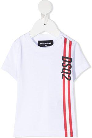 Dsquared2 Logo stripe t-shirt