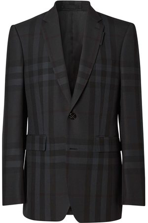 Burberry Heren Blazers - Single-breasted check blazer