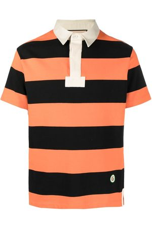 Gucci Horizontal-stripe polo shirt