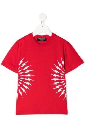 Neil Barrett Jongens T-shirts - Thunderbolt T-shirt