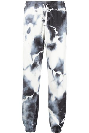MARCELO BURLON CROSS TIE&DYE RELAX SWEATPANT DARK