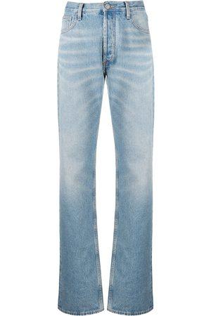The Attico Stonewashed boyfriend fit jeans