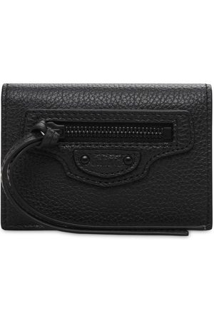 Balenciaga Neo Class Leather Mini Wallet