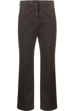 Incotex Cropped cotton trousers