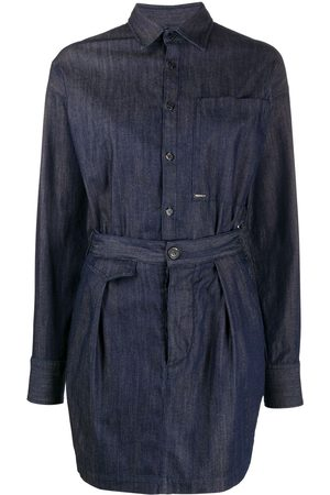 Dsquared2 Two-piece style denim dress