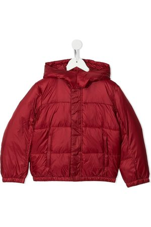 Emporio Armani Hooded puffer jacket