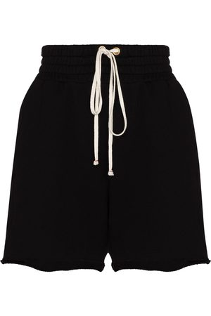 Les Tien Drawstring cotton shorts