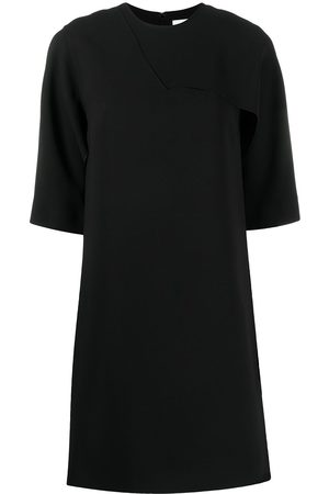 Victoria Victoria Beckham Ruffled T-shirt jersey dress