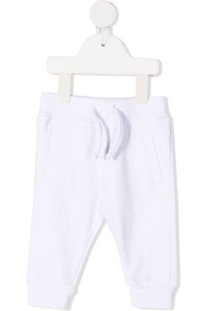 Dsquared2 Elasticated-ankle track pants