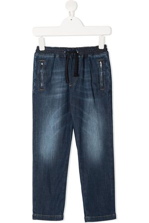 Dolce & Gabbana Drawstring-waist jeans