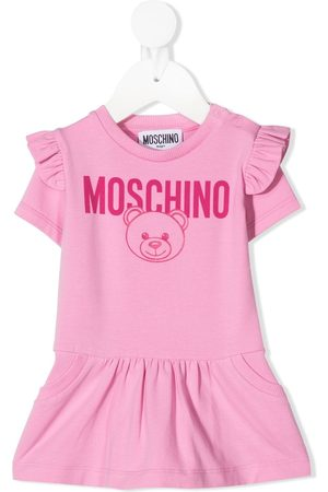 Moschino Short-sleeve Teddy Bear dress