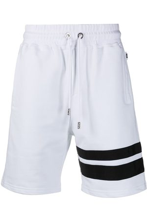 GCDS Stripe-detail jogger shorts