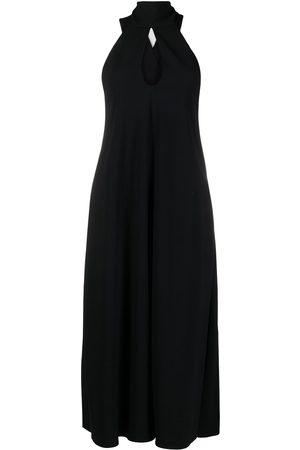 Victoria Beckham Cutout halterneck dress