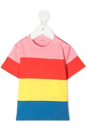 Stella McCartney Stripped cotton T-shirt