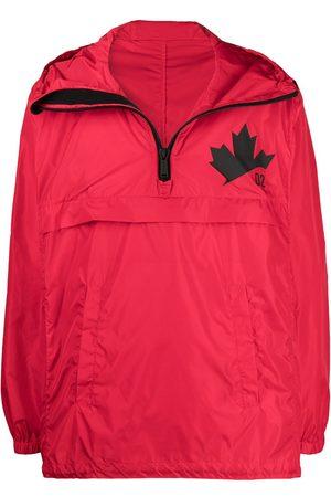 Dsquared2 Heren Windbreakers - Logo-print windbreaker jacket